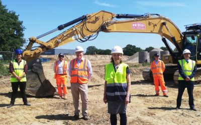 Construction work to begin on new landmark destination at Colchester Northern Gateway with appointment of Breheny